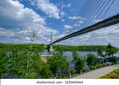 The Penobscot Narrows Bridge and Observatory