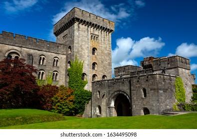 Penrhyn Castle in Wales, United Kingdom.