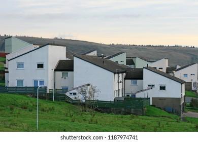 Penrhys housing estate, Rhondda, Wales