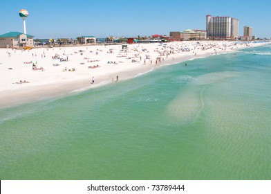 Pensacola Beach in March 2011, looking beautiful after the oil spill