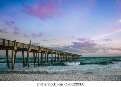Pensacola Beach Pier, Florida - USA