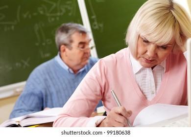 education elderly