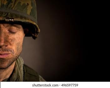 Pensive Soldier