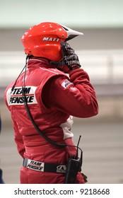 Penske Racing Pitt Crew Member