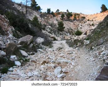 Penteli mountain Athens Greece