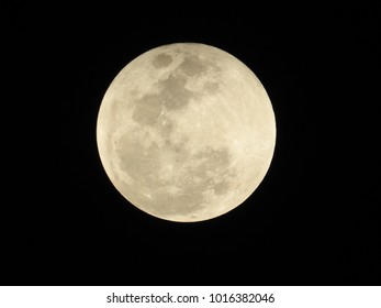 Penumbral phase of Lunar eclipse near to end on 31st Dec 2018 at 21:08 IST, Vadodara, Gujarat State, India