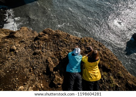 People Admire Beautiful View Best Country Stock Photo (Edit Now