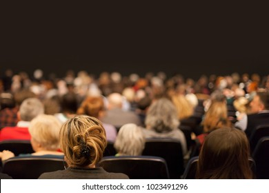 people in the audience