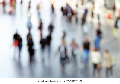 People background, abstract. Intentionally blurred.