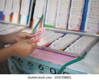People buy lotteries