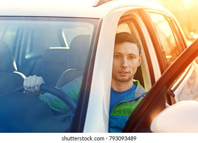 people in car