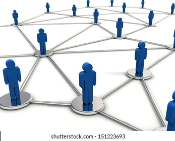 People connection concept.