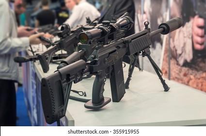 Semi Automatic Rifle Images, Stock Photos & Vectors