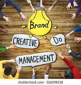 People Creativity Management Brand Marketing Inspiration Motivation Concepts