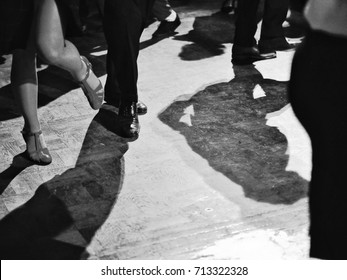 people dancing at the music party