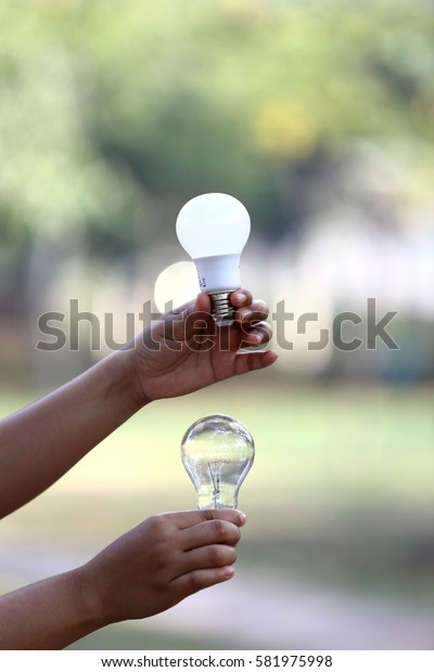 People hand lamps