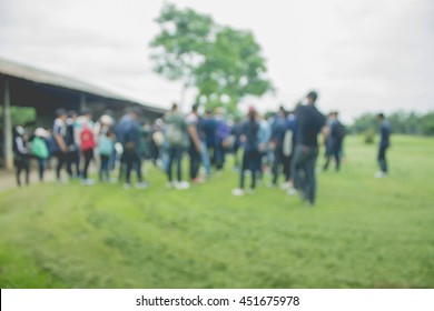 A lot of people are having fun , blur