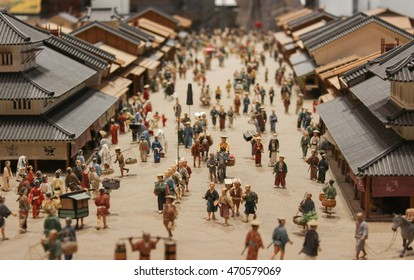 People life style model. Simulated in Edo period