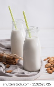 People make homemade almond milk using blender or food processor. This beverage is a delicious, alkalizing drink that is a perfect alternative if you're avoiding dairy