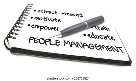 People Management Flow Chart notes