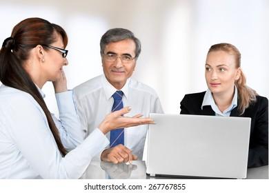 People, Meeting, Talking.
