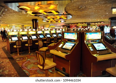 People play in casino at June 09, 2009 in Nevada, Las Vegas, Usa.