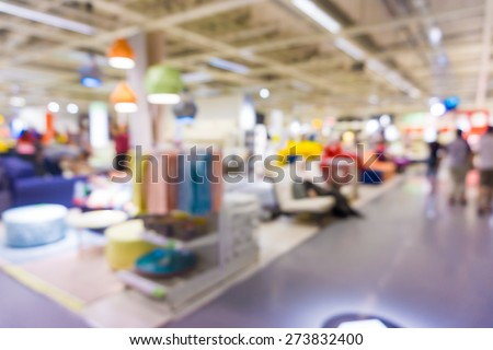 People Shopping Home Decor Department Store Stock Photo Edit Now