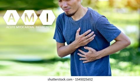 People are sick AMI Acute Myocardial Infarction,STEMI ST Elevated Myocardial Infarction,PVC Premature Ventriular Contracture,CHF Congestive Heart Failure