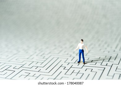 People suffering from a variety maze
