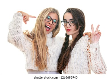 people, women with reading glasses