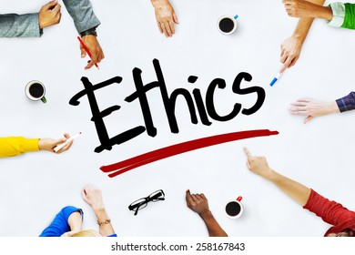 People Working and Ethics Teamwork Concept