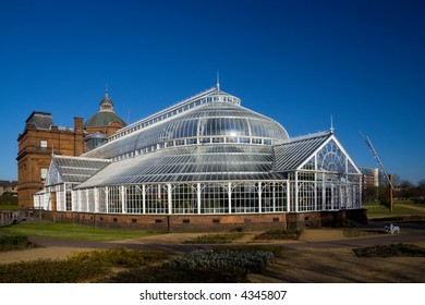 The People's Palace greenhouse on glasgow Green