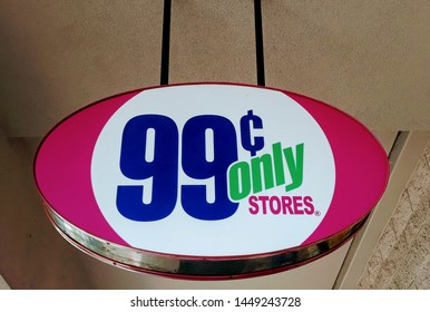 Peoria, Arizona / USA - July 11, 2019 99 cent Only Stores is an American chain located in California, Arizona, Navada and Texas.