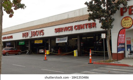 Pep Boys at Stockdale Town Center Bakersfield, CA - October 26 2020
