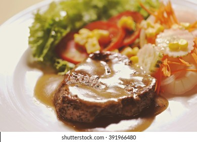 pepper fillet steak