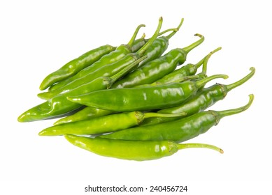 pepper isolated on a white background