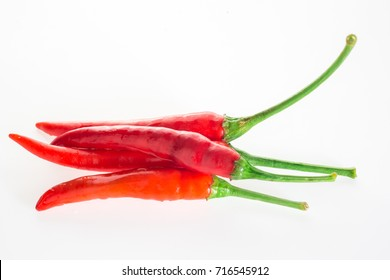 pepper set isolated on a white background (chilli, chili, pepper)
