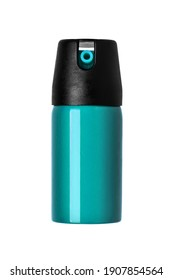 Pepper spray isolate on a white background. Non-lethal means of self-defense.
