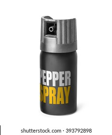 Pepper spray isolated on a white background