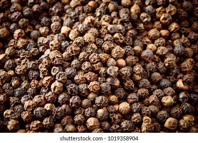 Peppercorn. Black Pepper. Peppercorns background, texture.