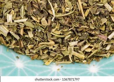 peppermint leaf detail, healthy herbs naturopathy