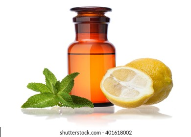 peppermint oil and lemon