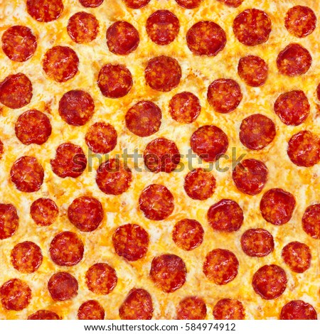 Pepperoni Pizza Seamless Food Texture Use Stock Photo Edit Now