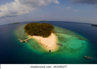 "Perak Island, the island is located at ""A Thousand Island"", near of Jakarta, Indonesia"