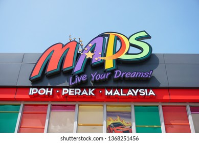 Perak, Malaysia. 12 April, 2019.Movie Animation Park (MAPS) in Ipoh, Perak. The park offers 40 attractions in 6 themed zones. - Image
