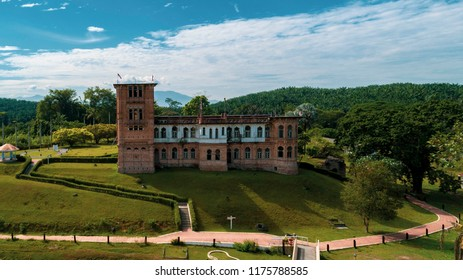 PERAK, MALAYSIA. MARCH 14. Kellie's Castle is a castle located in Batu Gajah, Kinta District, Perak, Malaysia.The unfinished, ruined mansion, was built by a Scottish planter named William Kellie-Smith