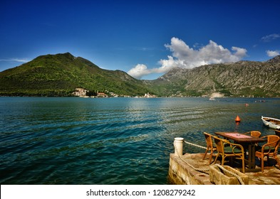 Perast is an old and little town on the Bay of Kotor in Montenegro. It is situated a few kilometres of Kotor and is noted for its proximity to the islets of St. George and Our Lady of the Rocks.
