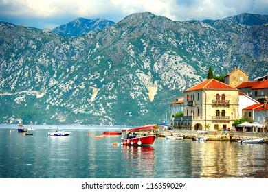 Perast,Kotor bay, Montenegro