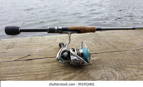 Perch fishing, fishing on spinning.