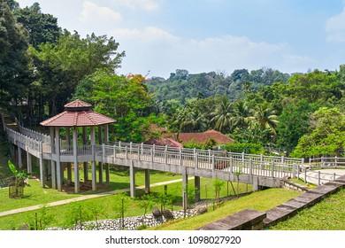 Perdana Botanical Garden view in Kuala Lumpur, Malaysia